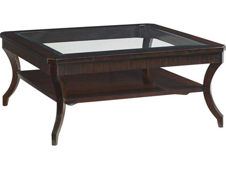 Lexington Kensington Place Oxford Brown Square Coffee Table