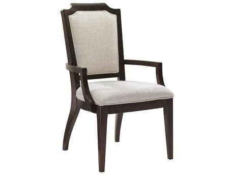 Lexington Kensington Place Oxford Brown Arm Dining Chair