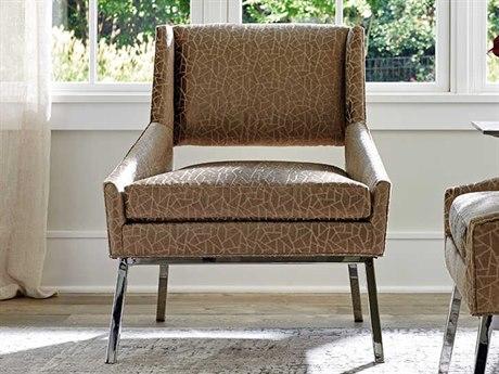 Lexington Kitano Polished Chrome Accent Chair