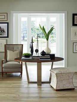 Lexington Kitano Chair and Ottoman Set