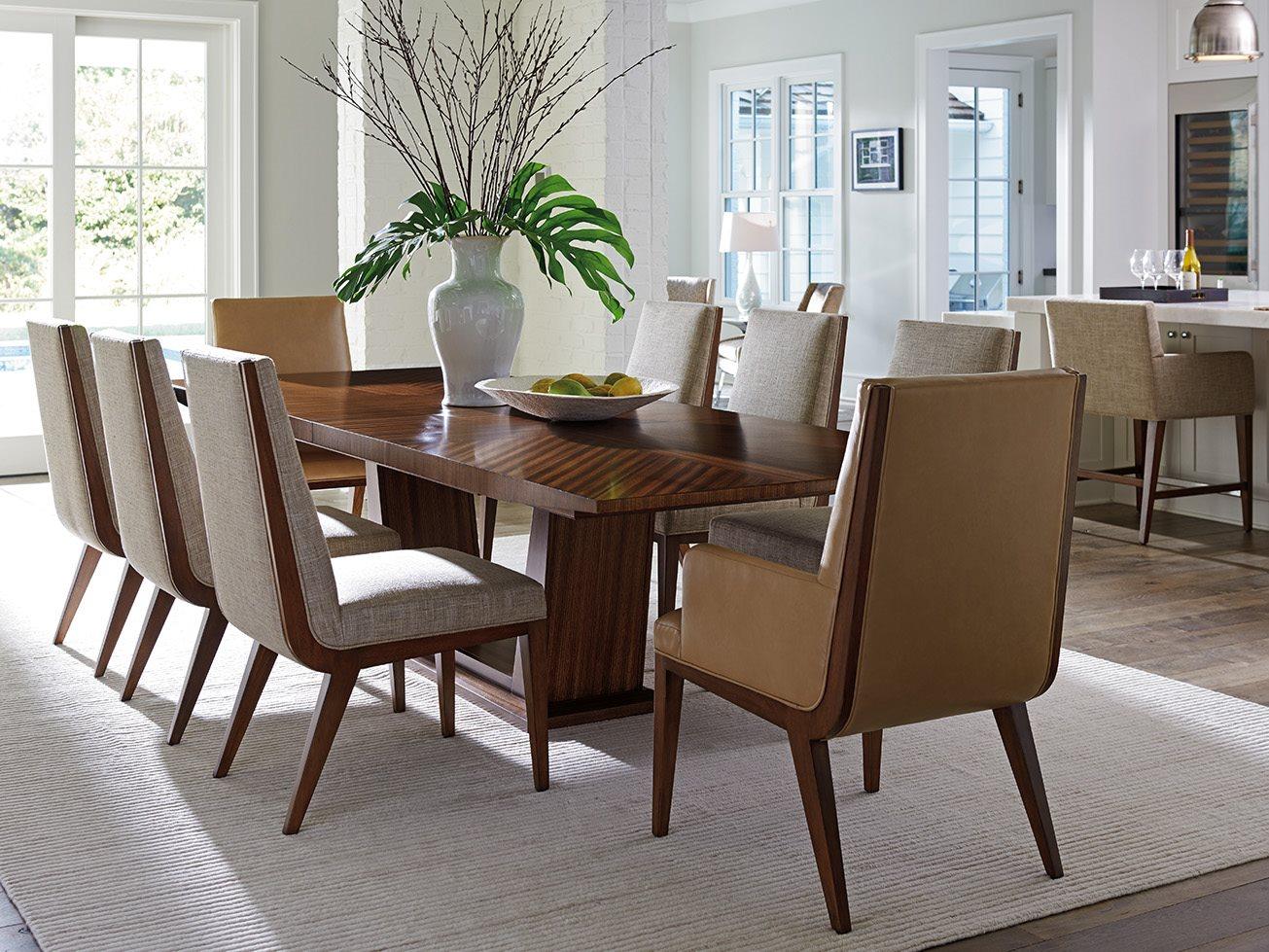 lexington dining room | Lexington Kitano Dining Room Set | LX734877CSET2