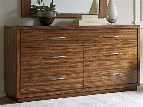 Lexington Kitano Rich Brown Hazelnut Double Dresser