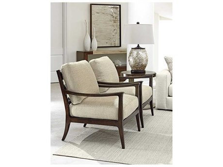 Lexington Laurel Canyon Table Set Chair and Ottoman LX79063311SET