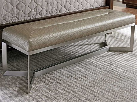 Lexington Macarthur Park Iris Faux Leather Accent Bench LX010729536C