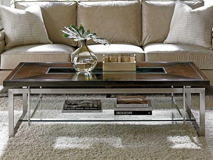Lexington Macarthur Park Walnut Rectangular Coffee Table 01 0729 947c