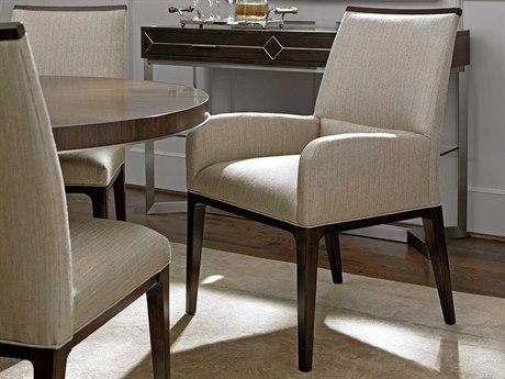 Lexington Macarthur Park Wheat & Walnut Arm Dining Chair