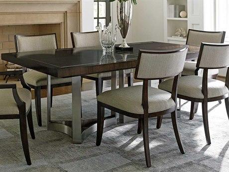 Lexington Macarthur Park Walnut 82'' Wide Rectangular Dining Table