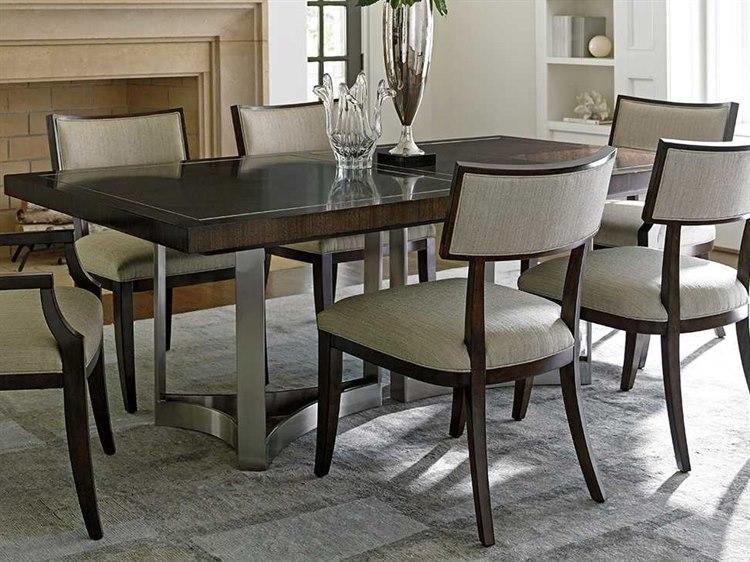 lexington dining room table   Lexington Macarthur Park Walnut 82'' Wide Rectangular ...