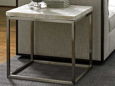 Lexington Macarthur Park Veracruz Stone Rectangular End Table