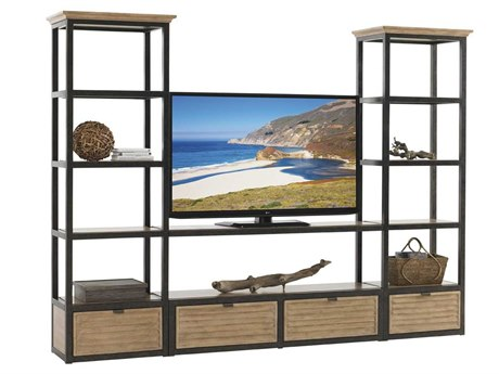 Lexington Monterey Sands Burnished Antique Bronze TV Stand LX010830990S