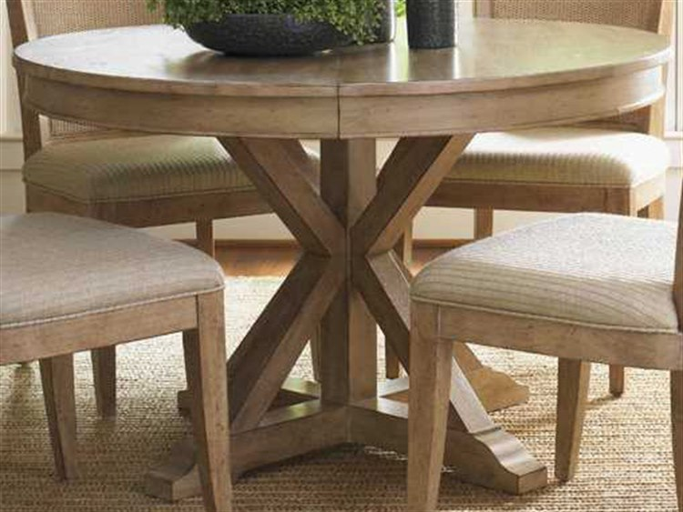lexington dining room table   Lexington Monterey Sands Sandy Brown Cambria 48-72'' Wide ...