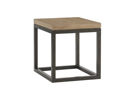 Lexington Monterey Sands Sand Brown Cambria Rectangular End Table LX010830953