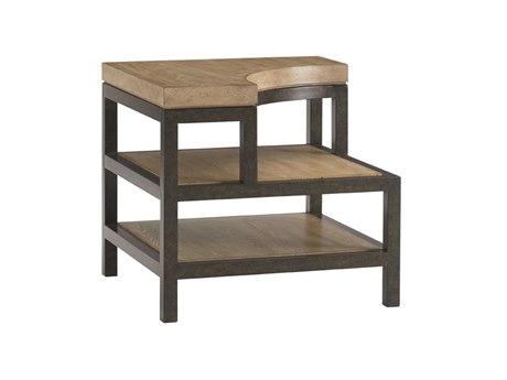 Lexington Monterey Sands Sandy Brown Cambria Square End Table LX010830954