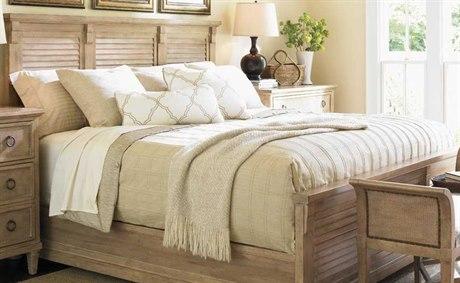 Lexington Monterey Sands Sandy Brown Cambria King Panel Bed