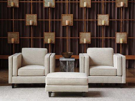Lexington Santana Chair and Ottoman Set