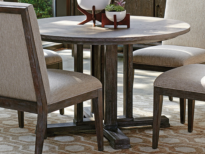 lexington dining room table   Lexington Santana 48'' Wide Round Dining Table   LX010411870C