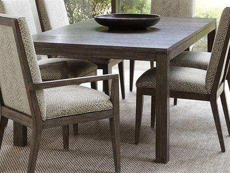 Lexington Santana Cerused Gray 80'' Wide Rectangular Dining Table