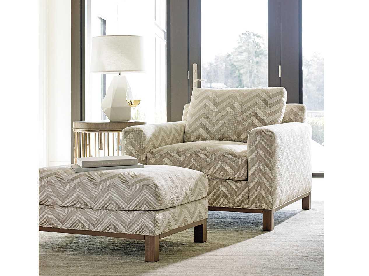 Lexington Shadow Play Chair and Ottoman Set