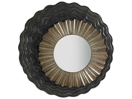 Lexington Shadow Play Burnished Silver Dresser Mirror LX010725201