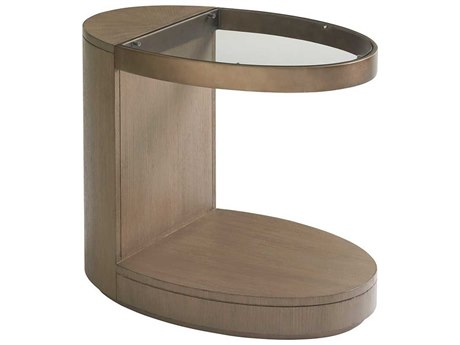 Lexington Shadow Play Oval End Table LX010725953