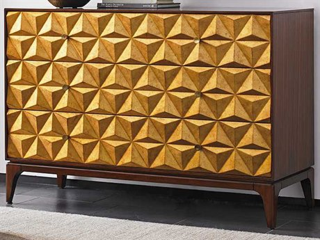 Lexington Take Five Zebrano with Burnished Gold Leaf Buffet LX010723973
