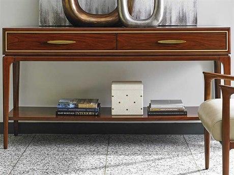 Lexington Take Five Rosewood Rectangular Console Table
