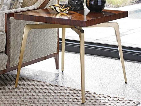 Lexington Take Five Rosewood Square End Table
