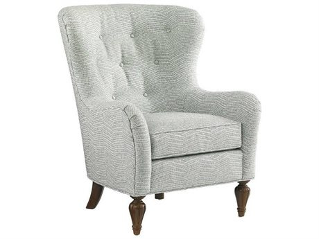 Lexington Upholstery Antique Cherry Accent Chair
