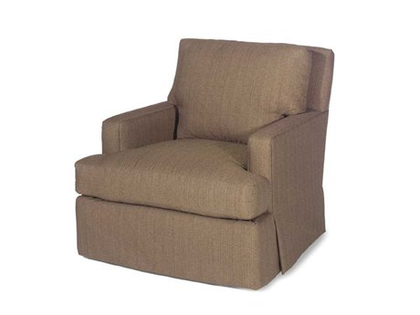 Lexington Upholstery Swivel Club Chair