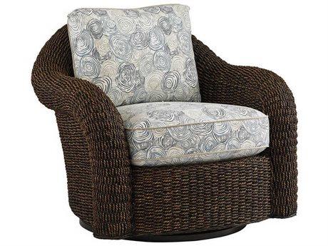 Lexington Upholstery Swivel Club Chair