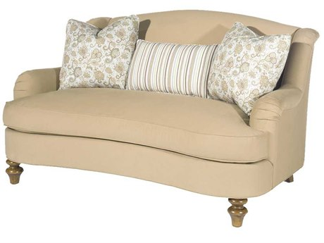Lexington Upholstery Nutmeg Loveseat Sofa