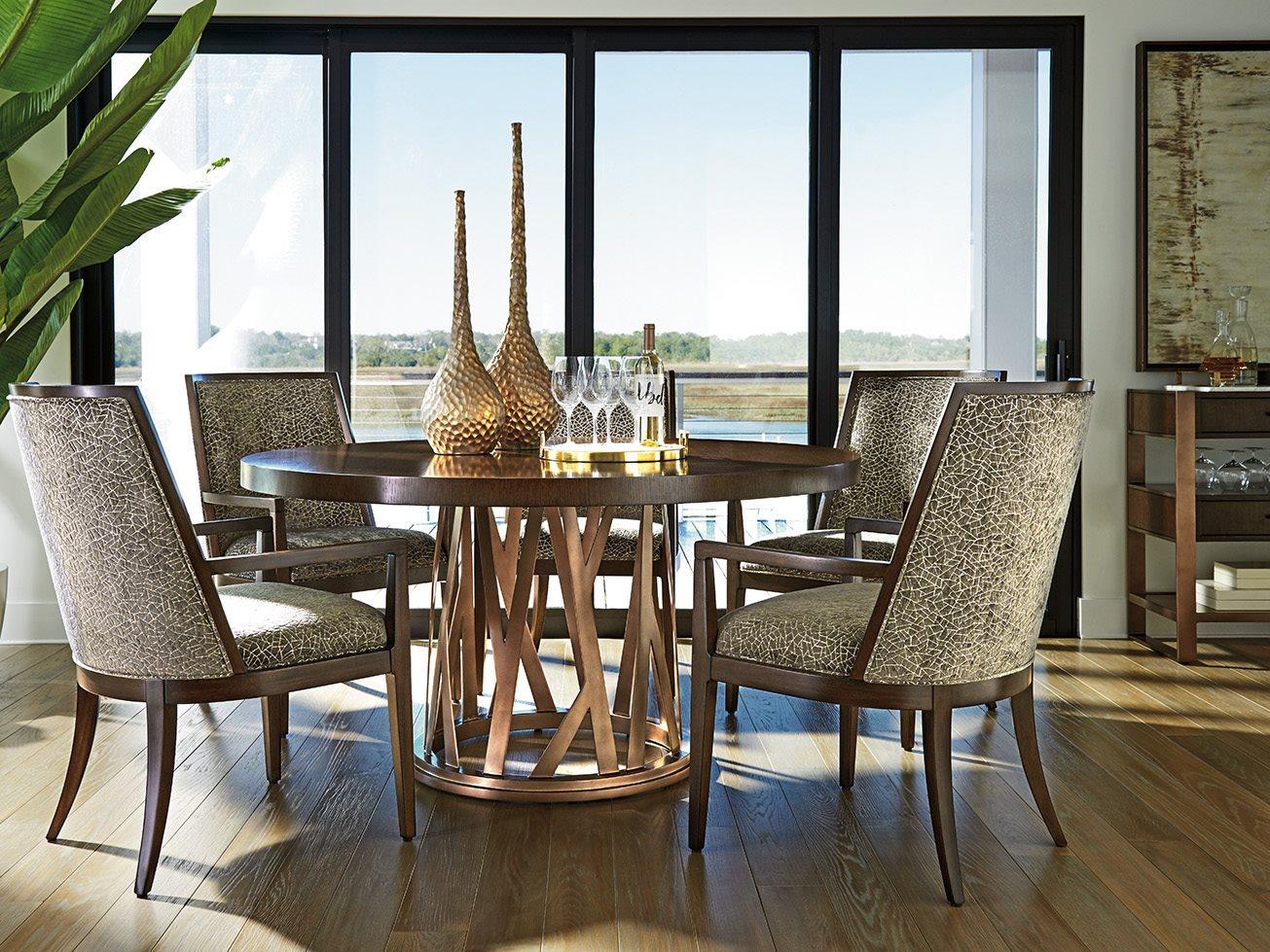 lexington dining room | Lexington Zavala Dining Room Set | LX790875CSET