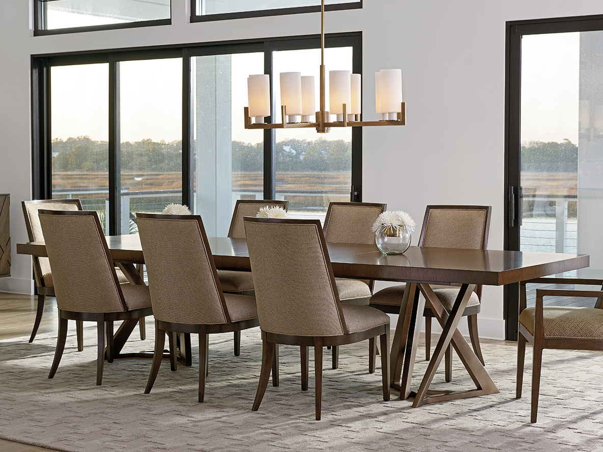 lexington dining room | Lexington Zavala Dining Room Set | LX790876CSET
