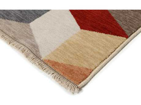 Ligne Pure Love Beige, Red, Blue, Brown, Yellow Rectangular Area Rug LP045069990