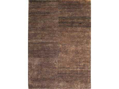 Ligne Pure Transform Rectangular Dark Brown Area Rug LP192001600