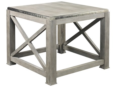 Lillian August Casegoods Driftwood Grey 30'' Wide Square End Table