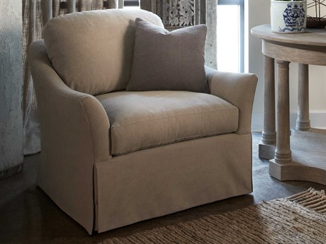 Lillian August Upholstery Swivel Accent Chair