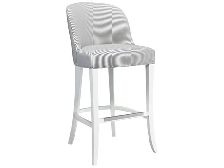 Lillian August Upholstery Side Bar Height Stool