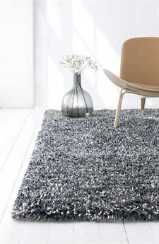 Linie Design Betona Rectangular Steel Area Rug LDBETONASTEEL