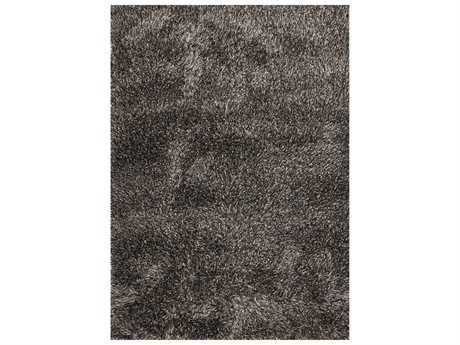Linie Design Ronaldo Rectangular Charcoal Area Rug LDRONALDOCHARCOAL