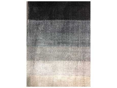 Linie Design Shiny Grey Rectangular Area Rug LDSHINYGREY