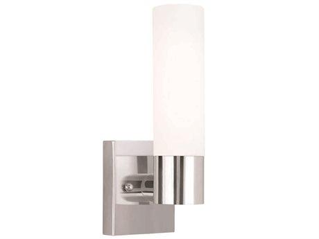 Livex Lighting Aero Chrome Wall Sconce LV1010105
