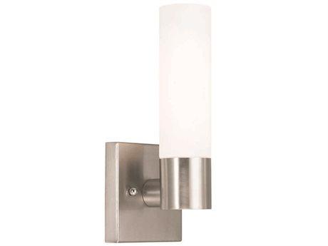 Livex Lighting Aero Brushed Nickel Wall Sconce LV1010191
