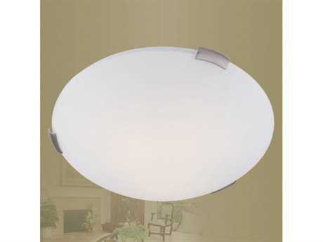 Livex Lighting Ariel Brushed Nickel Three-Light 16.5'' Wide  Flush Mount Light LV732591