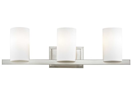 Livex Lighting Astoria Brushed Nickel Three-Light Vanity Light