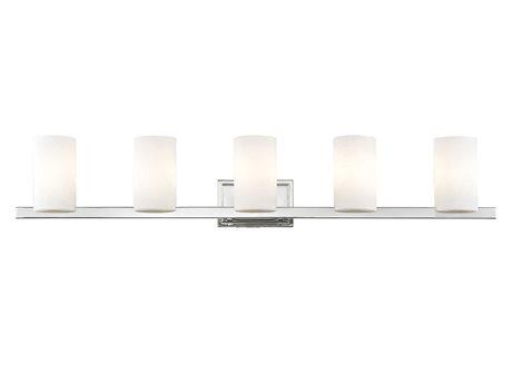 Livex Lighting Astoria Chrome Five-Light Bath Light