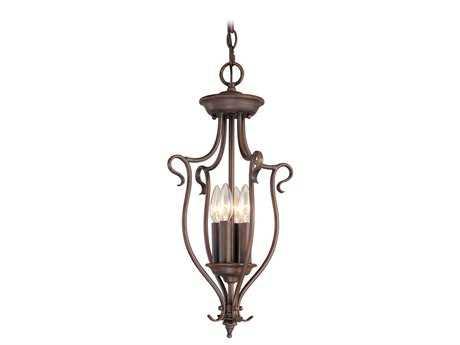 Livex Lighting Coronado Imperial Bronze Four-Light 11'' Wide Chandelier LV612758