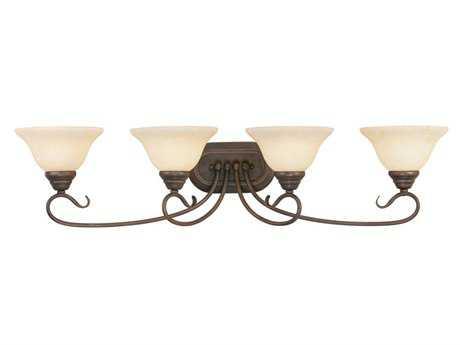 Livex Lighting Coronado Imperial Bronze Four-Light Vanity Light LV610458
