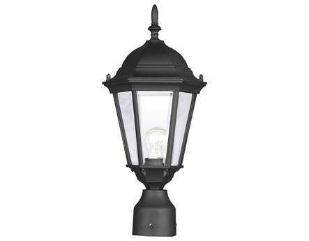 Livex Lighting Hamilton Black Outdoor Post Light