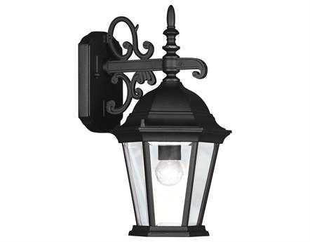 Livex Lighting Hamilton Black Outdoor Wall Light